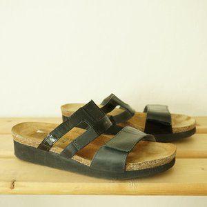 NAOT Womens Nancy Two Strap Slide Sandals 39 / 8